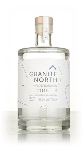Granite North Scottish Gin, 70 cl