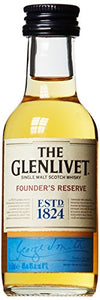 Glenlivet Founder's Reserve Single Malt Scotch Whisky 5cl Miniature