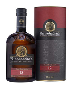 Bunnahabhain 12 Year Old Whisky, 70 cl