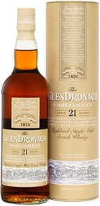 GlenDronach 21 Year Old Parliament Highland Single Malt Scotch Whisky 70 cl