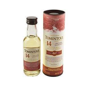 Tomintoul 14 year old Single Malt Scotch Whisky 5cl Miniature