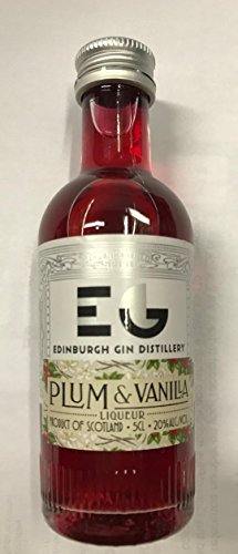 Edinburgh Plum and Vanilla Liqueur 5cl miniature