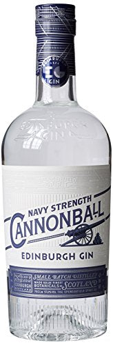Edinburgh Navy Strength Cannonball Gin 70 cl