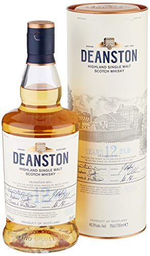 Deanston 12 Year Old Highland Single Malt Scotch Whisky, 70 cl