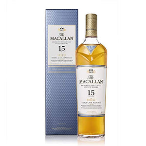 Macallan 15 Year Old Triple Cask Matured Single Malt Scotch Whisky, 70 cl