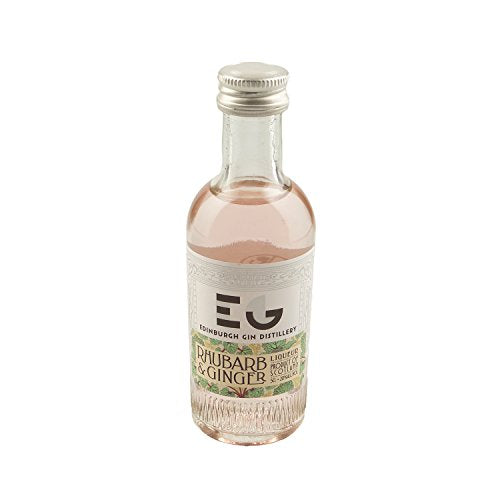 Edinburgh Gin Rhubarb & Ginger Liqueur 5cl Miniature