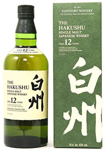 Suntory Hakushu 12 Year Old Single Malt Whisky 70 cl