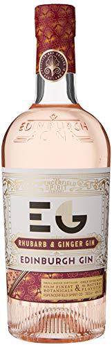 Edinburgh Gin 40% ABV Rhubarb and Ginger, 70 cl