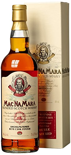 Mac na Mara Rum Finish Blended Whisky Isle of Skye, 0.7 Litre