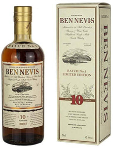 Ben Nevis 10 Year Old Batch No.1 Single Malt Whisky