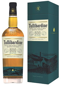 Tullibardine 500 Sherry Finish Highland Single Malt Scotch Whisky, 70 cl