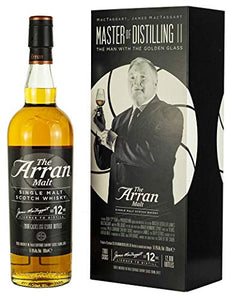 Arran - James MacTaggart Master of Distilling II - 12 year old Whisky