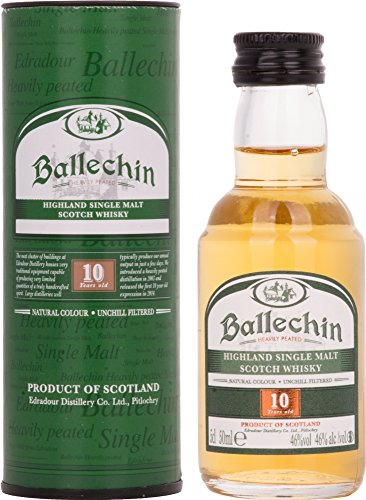 Old Ballechin by Edradour 10 year old Single Malt Scotch Whisky 5cl Miniature
