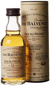 Balvenie Double Wood 12 year old Single Malt Whisky 5cl Miniature
