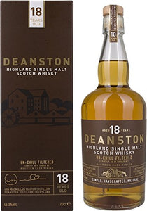 Deanston 18 Year Old Single Malt Scotch Whisky, 70 cl