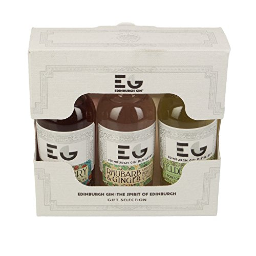 Edinburgh Gin Liqueur Miniature Gift Set (contains 3 x 5cl bottles)