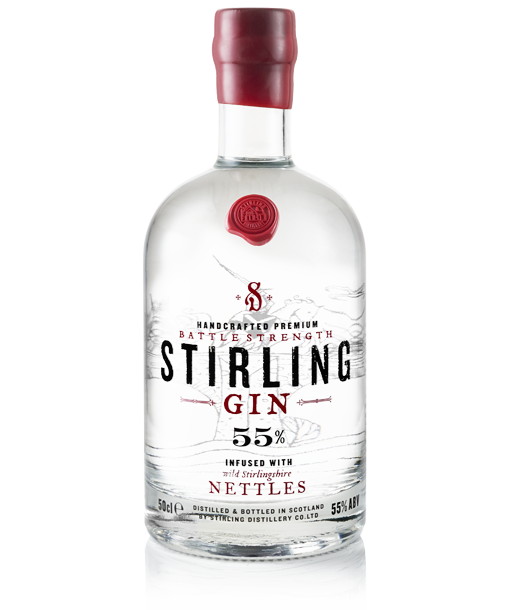 Stirling Gin Battle Strength 58% 50cl