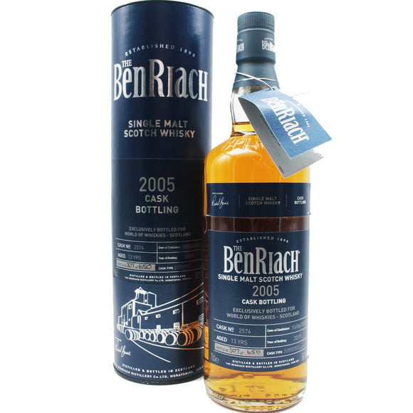 Benriach 2005 Signed Single cask 58.1%