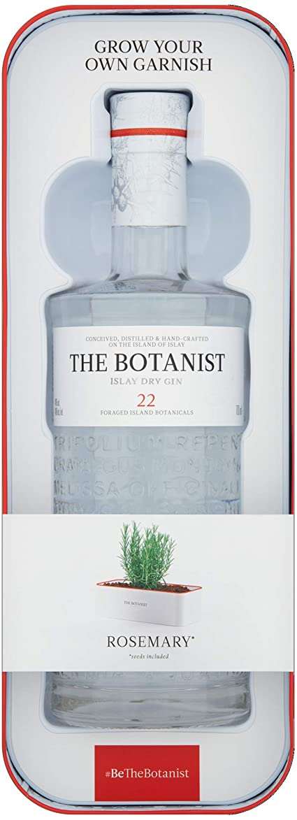 The Botanist Tin Planter