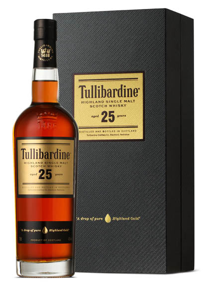 Tullibardine Single Malt Scotch Whisky 25 year old