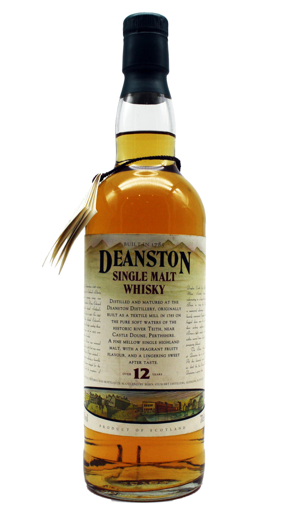 Deanston 12 Year Old Wars of Independence Old Bottling 40%