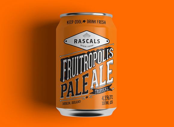 Rascals Fruitropolis Tropical Pale Ale