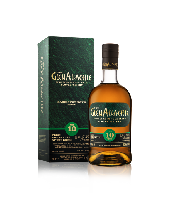 Glenallachie 10 Batch 4 Cask Strength