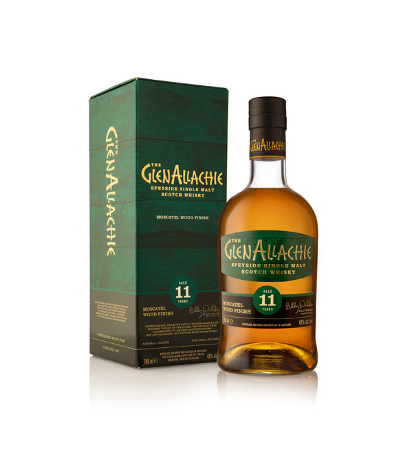Glenallachie Moscatel Wood Finish 48%