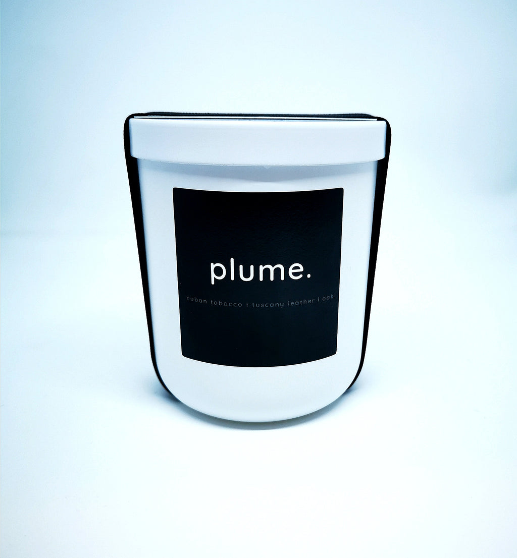 Plume Candle White