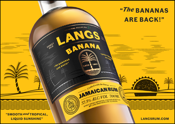 Langs Banana Jamaican Rum