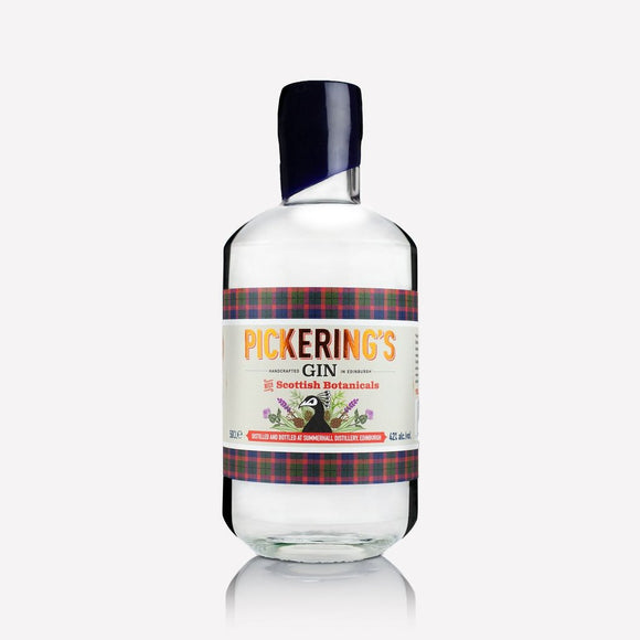 Pickering's Gin with Scottish Botanicals 50cl