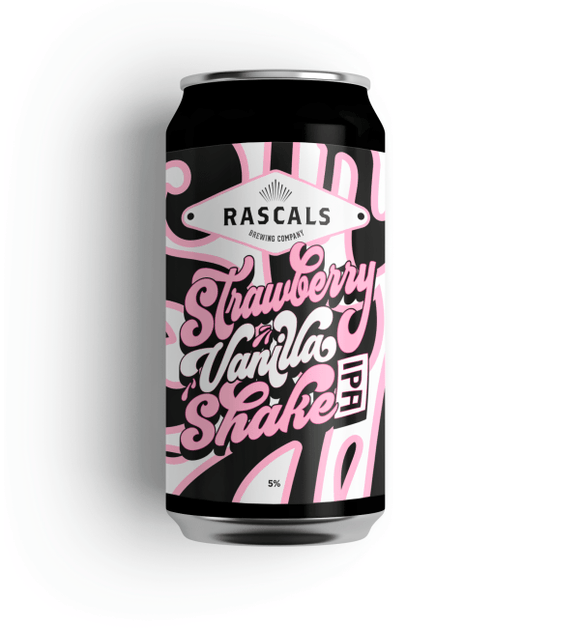 Rascals Strawberry Vanilla Shake IPA
