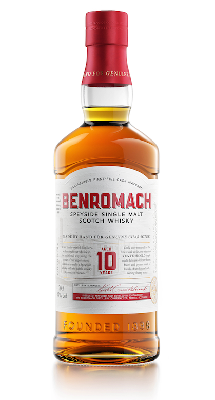 BENROMACH Single Malt Scotch Whisky 10 Years Old 43%