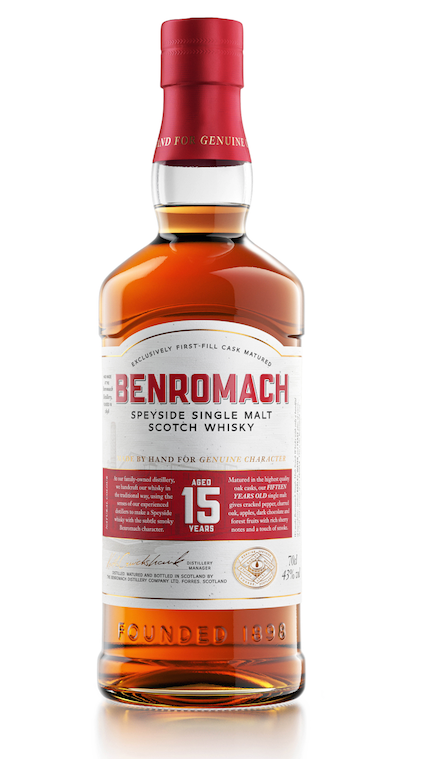BENROMACH Single Malt Scotch Whisky 15 Years Old 43%