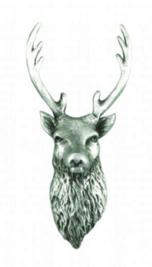 A E Williams Stags Head Pin
