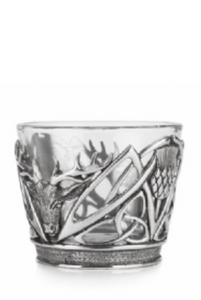 A E Williams Stag and Thistle Tumbler WHISK03