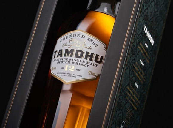 Tamdhu Speyside Single Malt Scotch Whisky 12 Year Old
