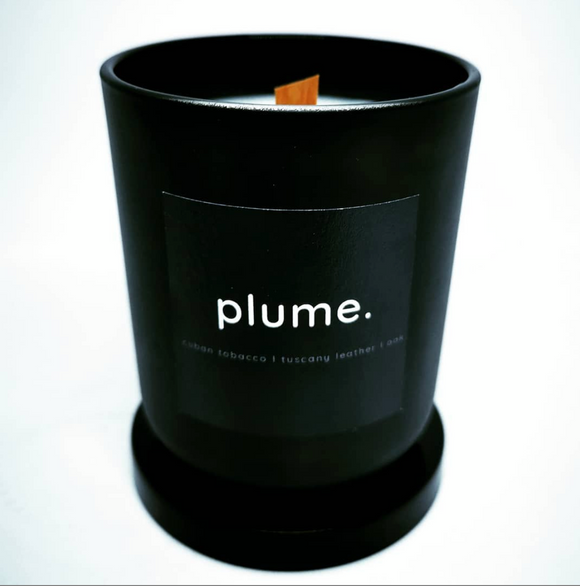 Plume Cigar Candle Black