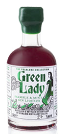 Stirling Gin Green Lady Bramble & Mint Liqueur 5cl