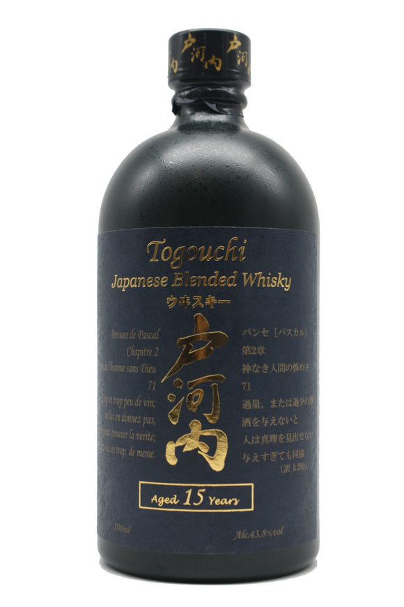 Togouchi 15YO Premium Blended Whisky Japan 43.8%
