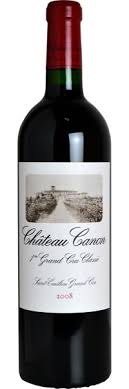 Chateau Canon 2008 1er Cru Grand Cru St Emillion