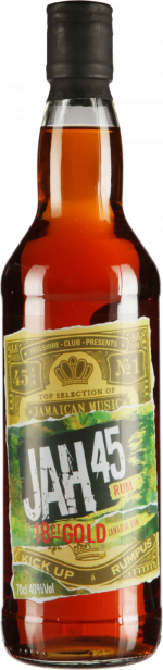 JAH 45 18ct Gold Rum 70cl