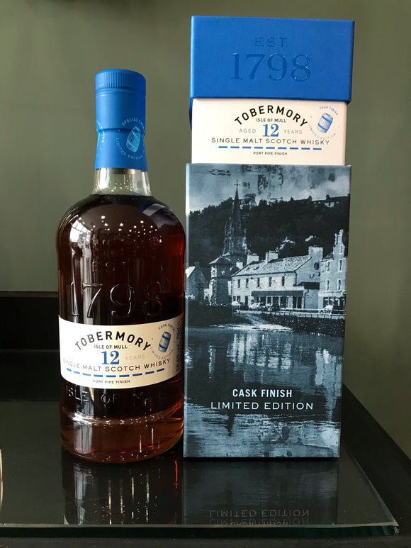 Tobermory 12yr Old Port Finish Cask Finish 58.6%