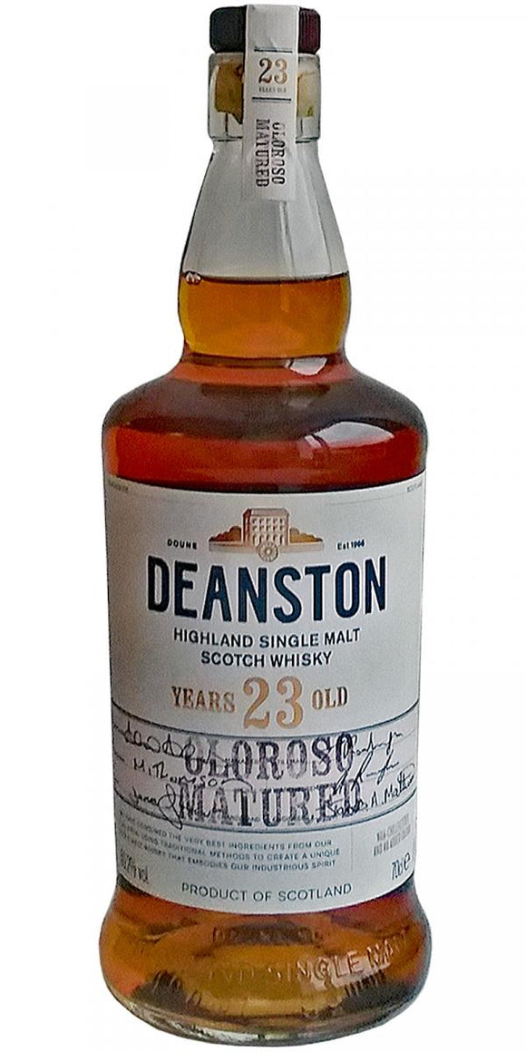 Deanston 23 year old Oloroso matured