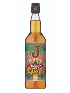 Old J Tiki Fire 75.5% rum