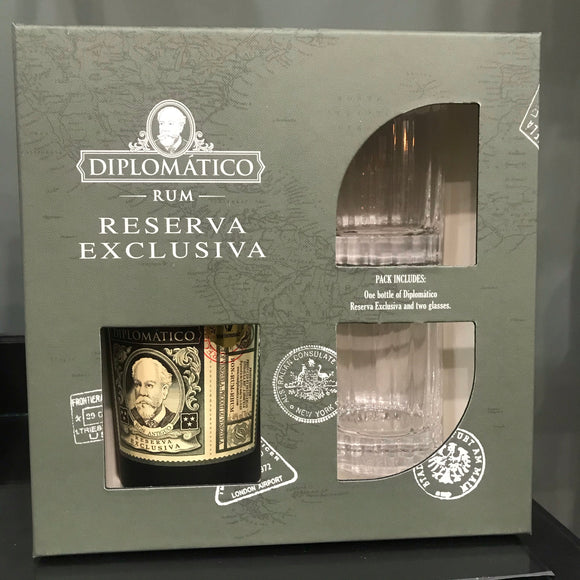 Diplomatico Exclusiva Gift Pack