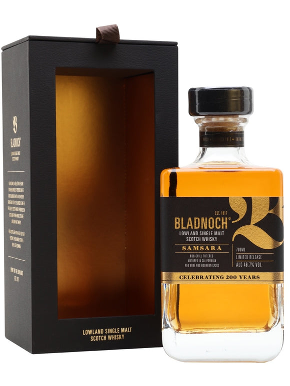 BLADNOCH SAMSARA Single Malt Scotch Whisky 46.7% VOL 70CL