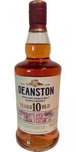 Deanston 10 year old Bordeaux red wine finish