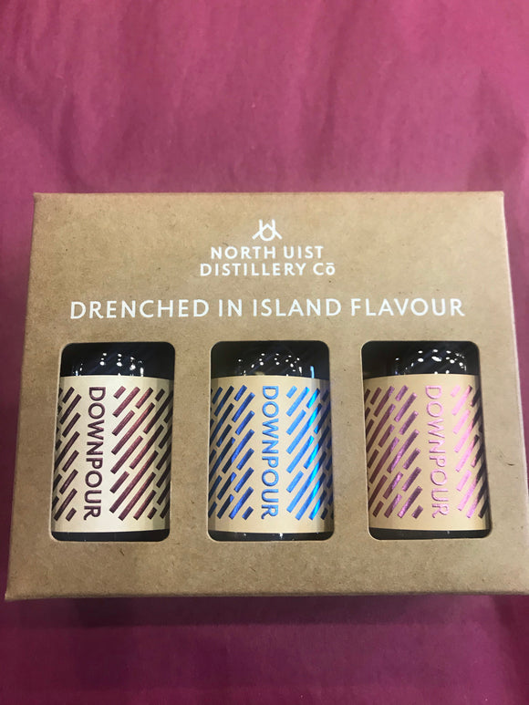 Downpour Mini Gin Gift Set