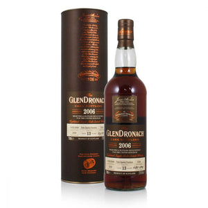 Glendronach 2006 13 years old cask 5538 57.4% abv